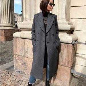 H&M Studio Full Length Wool Coat